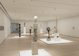 Installation view of Constantin Brancusi Sculpture, The Museum of Modern Art, New York, July 22, 2018–February 18, 2019. © 2018 The Museum of Modern Art. Photo: Denis Doorly