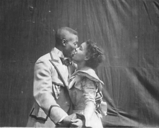 Something Good—Negro Kiss. 1898. Selig Polyscope Co.