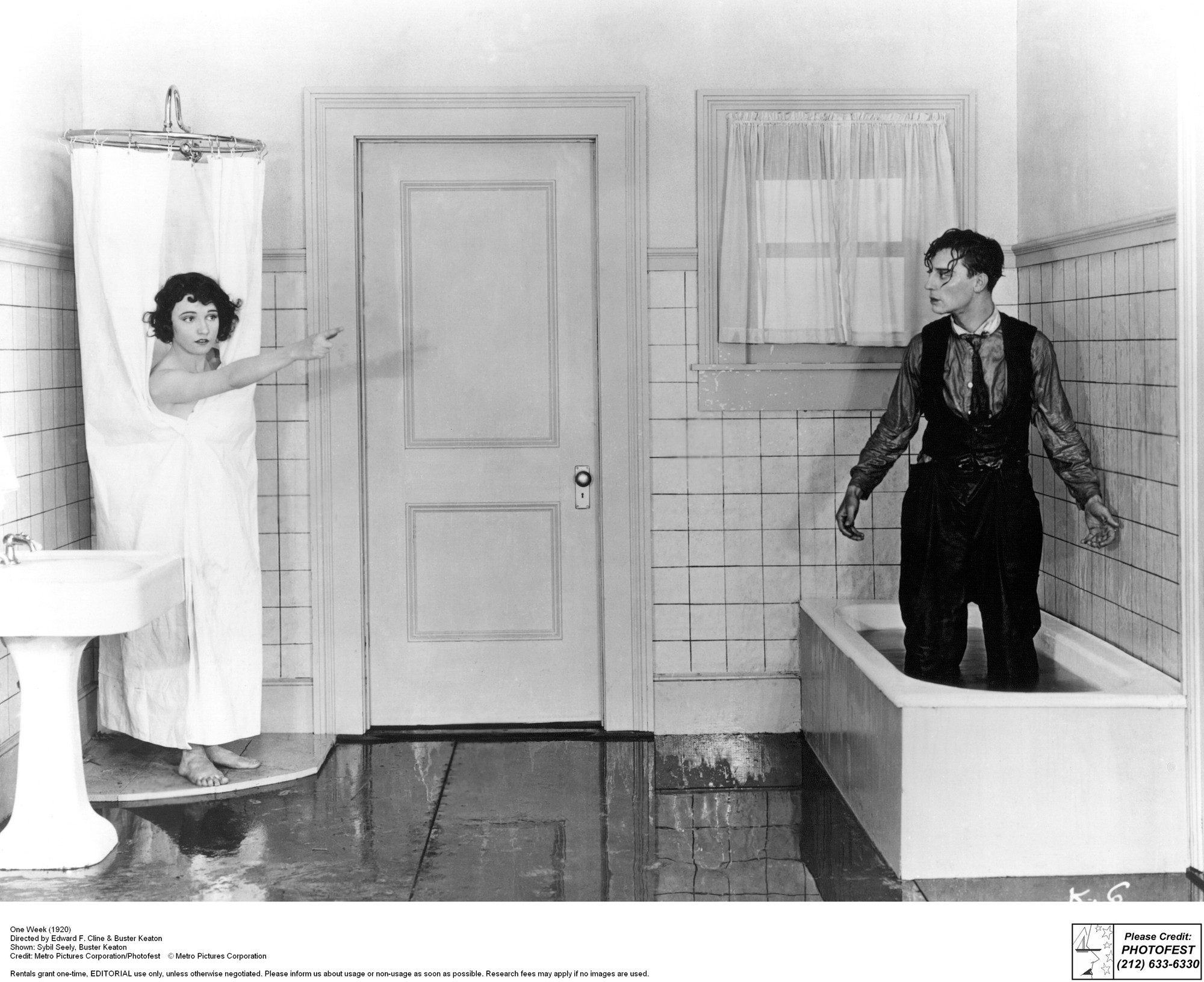 One Week. 1920. USA. Directed by Buster Keaton and F. Edward Klein. © Metro Pictures Corporation. Courtesy Photofest