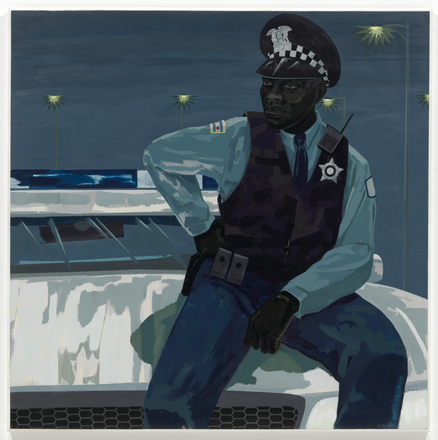 Kerry James Marshall. Untitled (policeman). 2015
