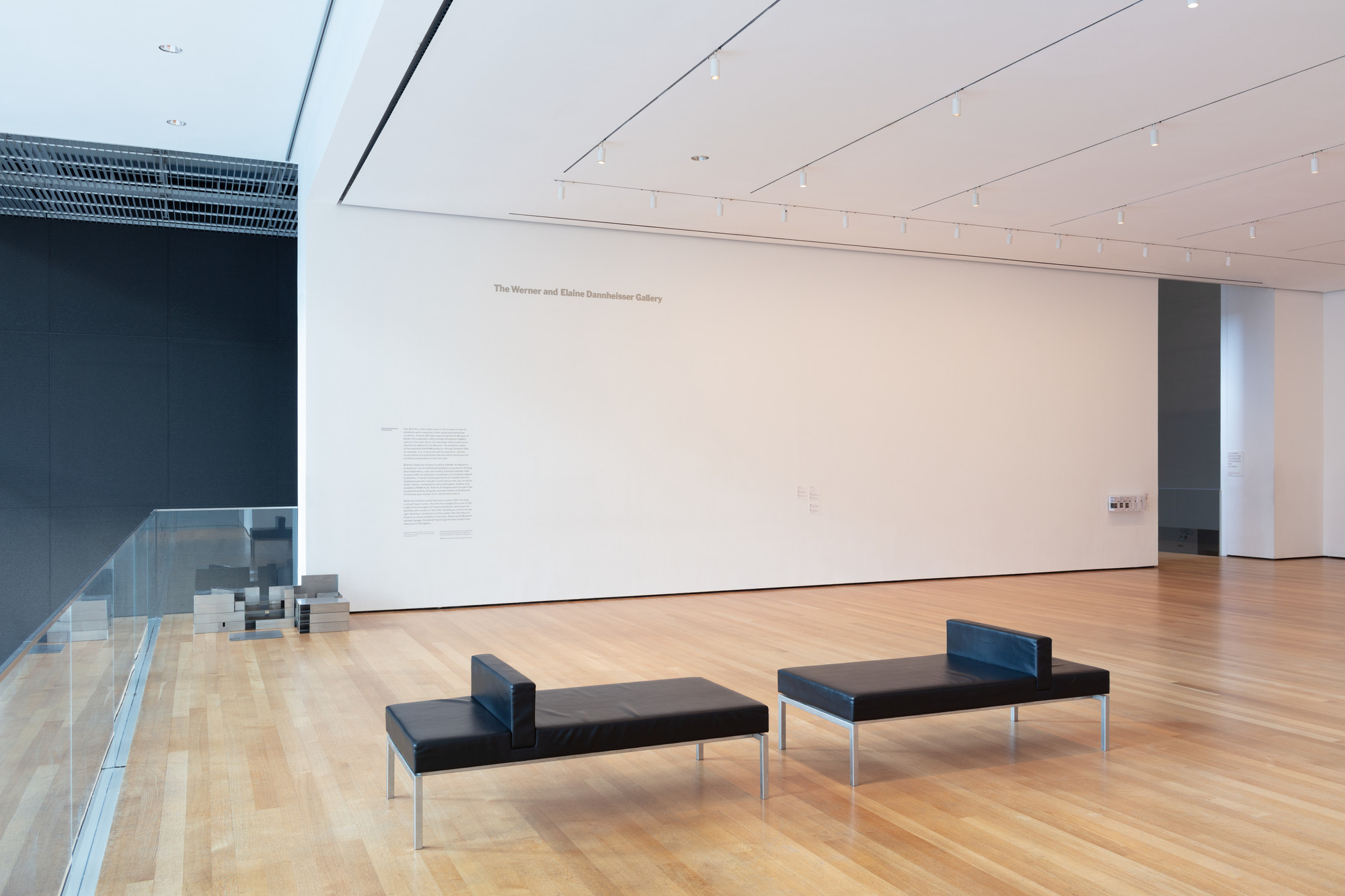 Installation view of the exhibition Projects 195: Park McArthur