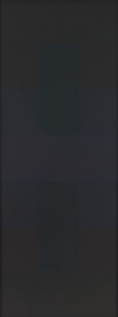 "Ad Reinhardt. *Abstract Painting*. 1957. Oil on canvas, 9' x 40"" (274.3 x 101.5 cm). Purchase. © 2019 Estate of Ad Reinhardt / Artists Rights Society (ARS), New York"