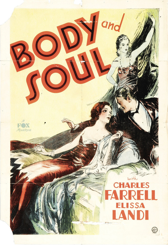 *Body and Soul*. 1931. USA. Directed by Alfred Santell. Courtesy Heritage Auctions (HA.com)