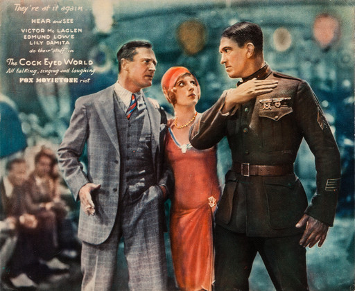 The Cock-Eyed World. 1929. USA. Directed by Raoul Walsh. Courtesy Heritage Auctions (HA.com)