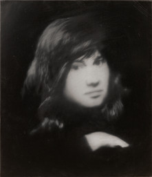 "Gerhard Richter. October 18, 1977. 1988. Fifteen paintings, oil on canvas, installation variable, from 13 3/4 x 15 1/2"" (35 cm) to 6' 6 3/4"" x 10' 6"" (200 x 320 cm); shown: Youth Portrait, 28 1/2 x 24 1/2"" (72.4 x 62 cm). The Sidney and Harriet Janis Collection, gift of Philip Johnson, and acquired through the Lilie P. Bliss Bequest (all by exchange); Enid A. Haupt Fund; Nina and Gordon Bunshaft Bequest Fund; and gift of Emily Rauh Pulitzer. © 2019 Gerhard Richter"