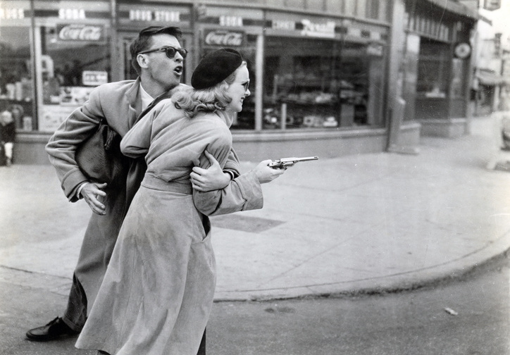 Gun Crazy. 1950. USA. Directed by Joseph H. Lewis. Photo courtesy of Photofest