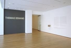 "Thomas Demand. Room (Zimmer). 1996. Chromogenic color print. 67 3/4"" x 7' 7 3/8"" (172 x 232 cm). The Museum of Modern Art, New York. Gift of the Nina W. Werblow Charitable Trust. © 2005 Thomas Demand"