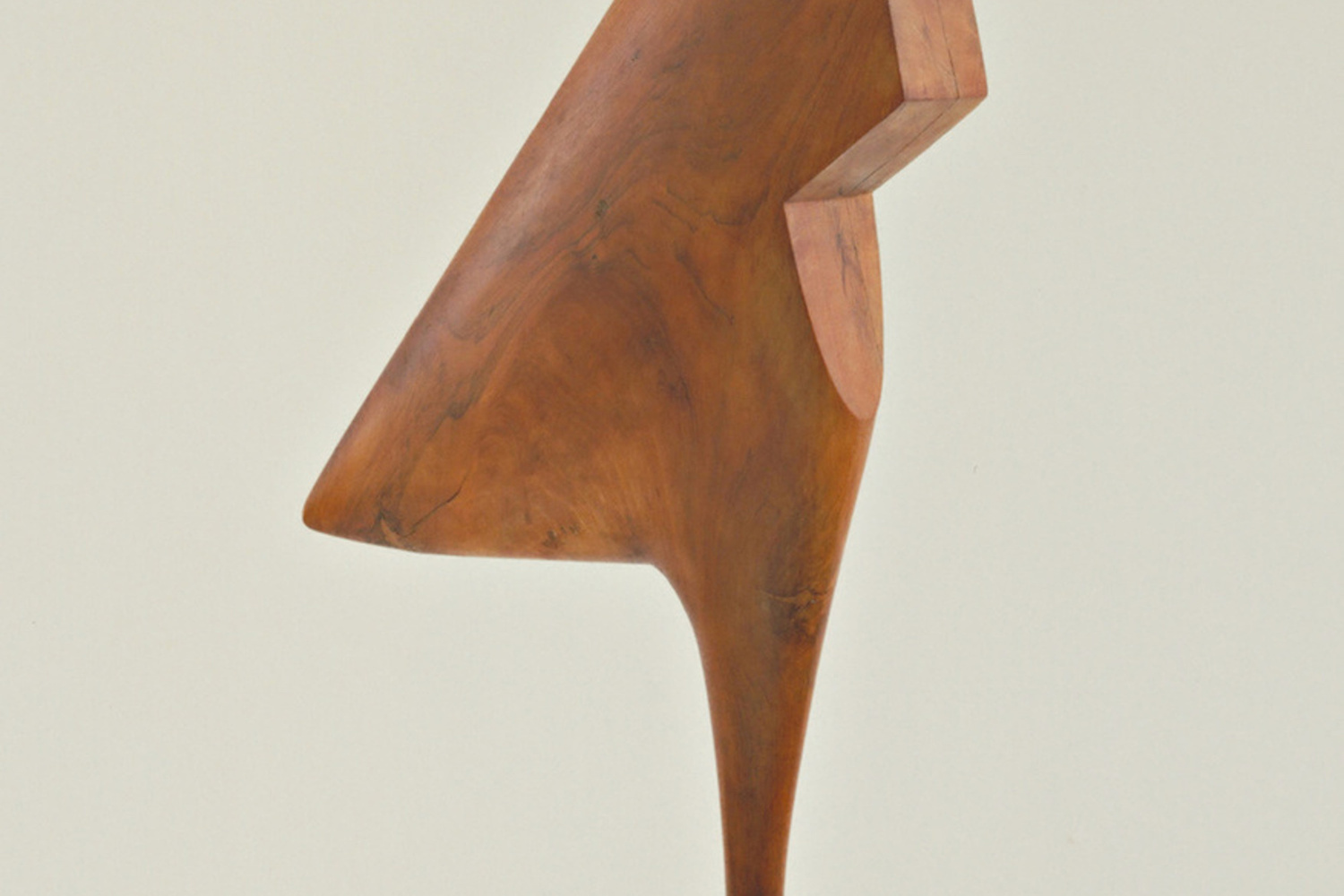 "Constantin Brancusi. The Cock. 1924. Cherry, 47 5/8 x 18 1/4 x 5 3/4"" (121 x 46.3 x 14.6 cm). Gift of LeRay W. Berdeau. © Succession Brancusi - All rights reserved (ARS) 2018"