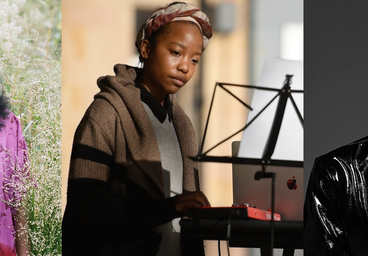 Images from left: Courtesy of Salome Asega. Photo: Naima Green; Courtesy of Steffani Jemison. © Nottingham Contemporary 2017; Courtesy of Jacolby Satterwhite