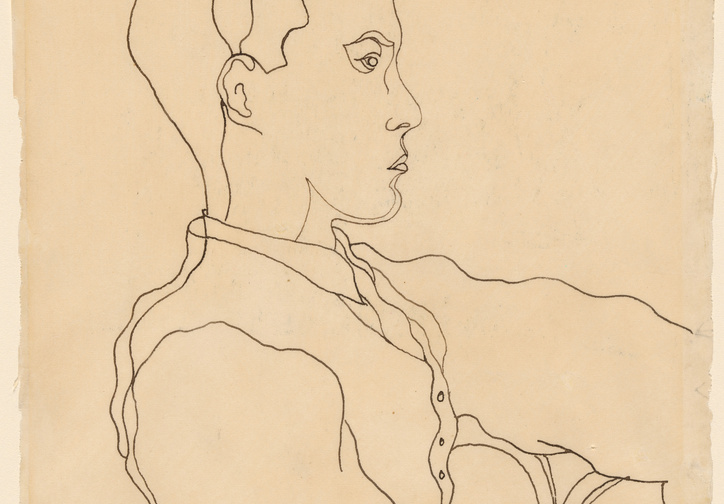 "Jean Cocteau. Glenway Wescott. 1926. Ink on paper, 10 3/8 x 7 7/8"" (26.1 x 20.0 cm). Gift of Monroe Wheeler. © 2019 Artists Rights Society (ARS), New York/ADAGP, Paris"