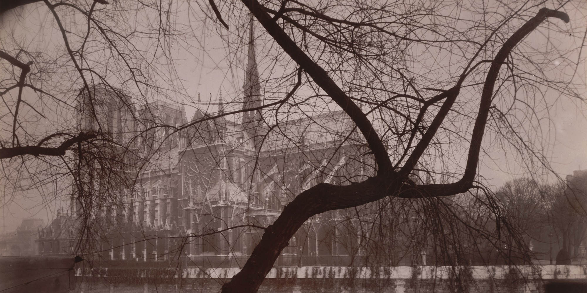 "Eugène Atget. Notre-Dame. 1925. Gelatin silver printing-out-paper print, approx. 7 x 8 7/8"" (17.8 x 22.5 cm). Abbott-Levy Collection. Partial gift of Shirley C. Burden"