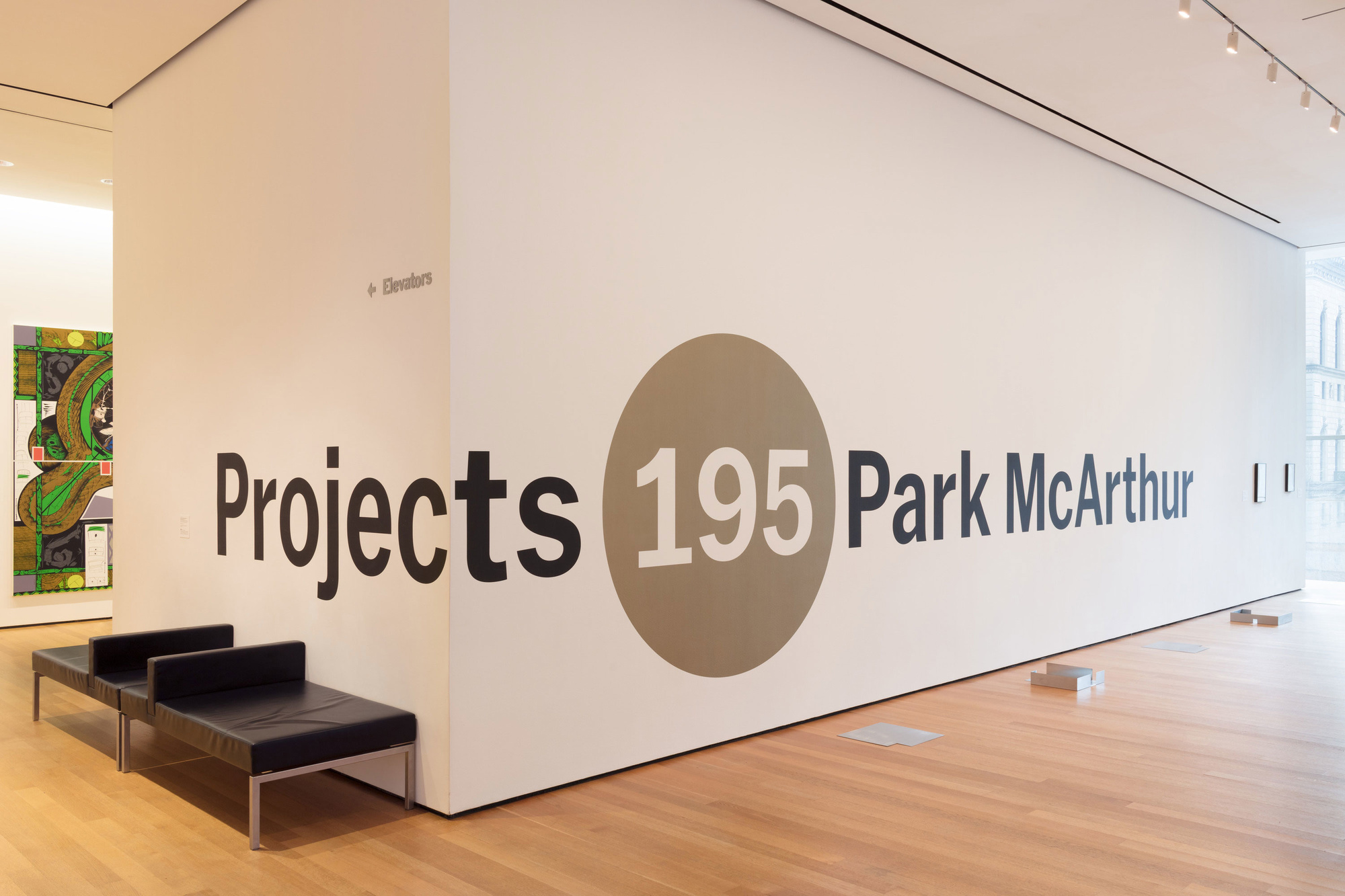 Installation view of the exhibition Projects 195: Park McArthur, The Museum of Modern Art, October 27, 2018–January 27, 2019. Photo: Denis Doorly