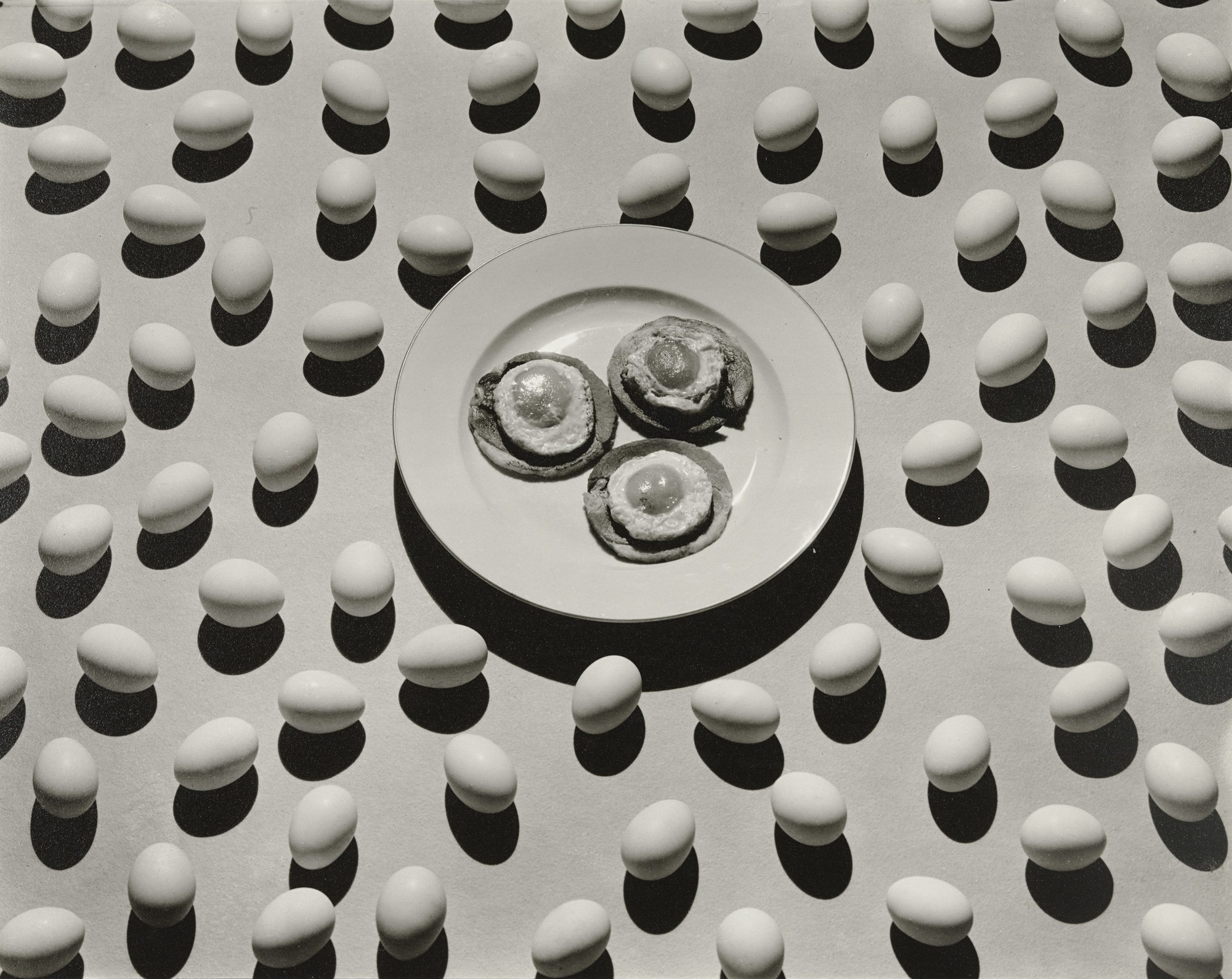 Ralph Steiner. Ham and Eggs. Advertisement for The Delineator. 1929