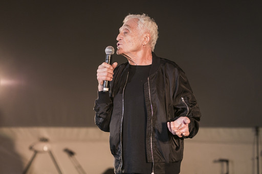 It's Not What Happens, It's How You Handle It, Organized by John Giorno and Mark Beasley on November 8, 2015, presented at MoMA PS1 as part of VW Sunday Sessions 2015-2016. Photo by Charles Roussel.