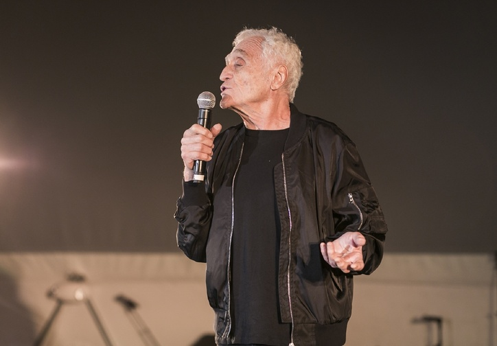 It's Not What Happens, It's How You Handle It. Organized by John Giorno and Mark Beasley on November 8, 2015. Presented at MoMA PS1 as part of VW Sunday Sessions 2015-2016. Photograph: Charles Roussel.