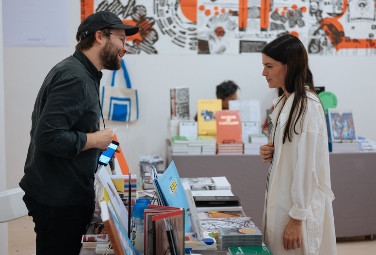 Printed Matter's NY Art Book Fair 2018. Image courtesy of Printed Matter, Inc.