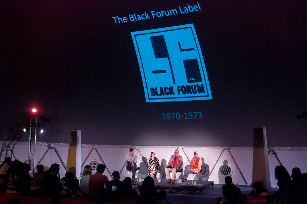 Black Forum, November 4, 2018, presented at MoMA PS1 as part of VW Sunday Sessions 2018-2019. Photo courtesy of MoMA PS1. Photo by Derek Schultz