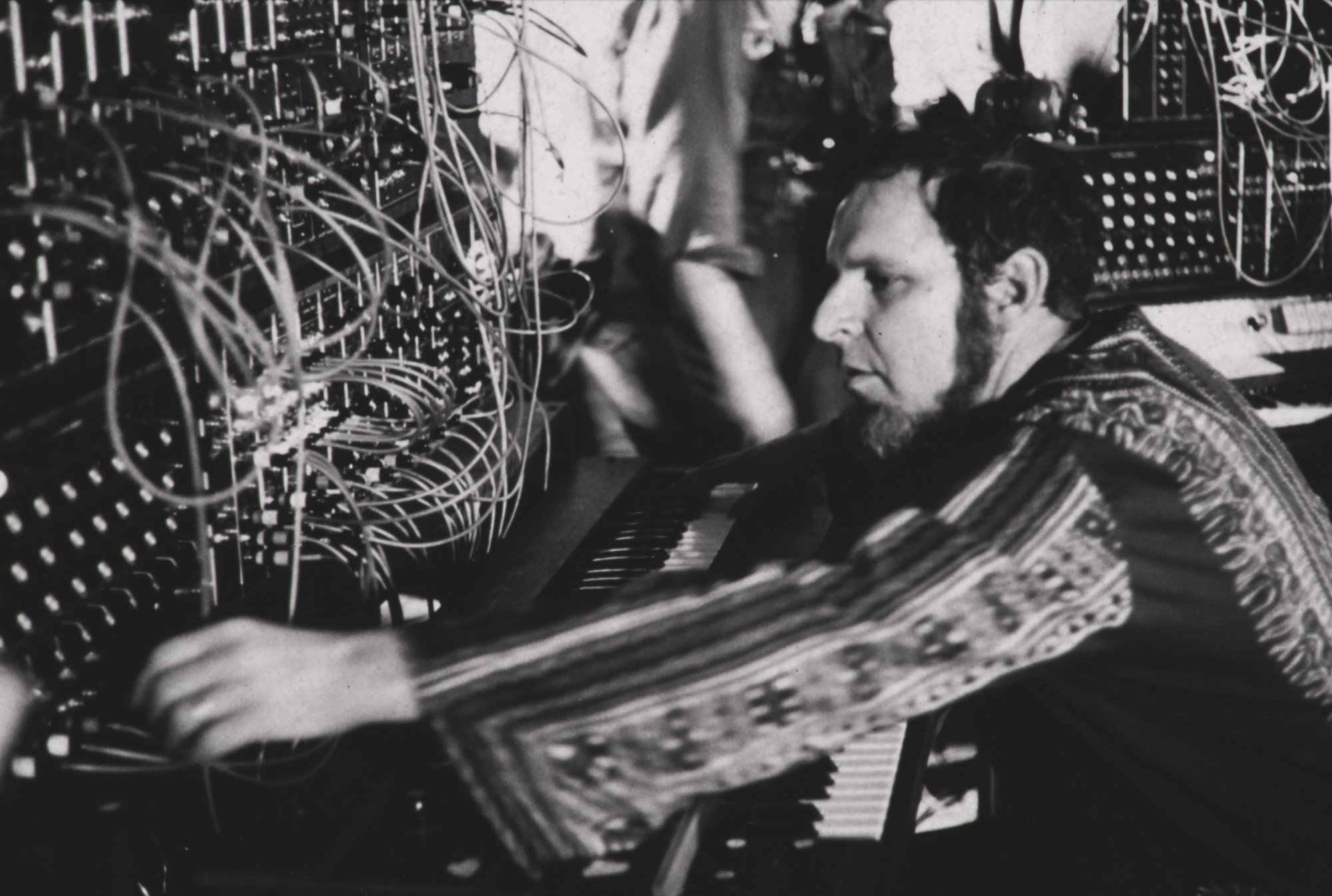 Herb Deutsch performs at the Moog Synthesizer Concert-Demonstration