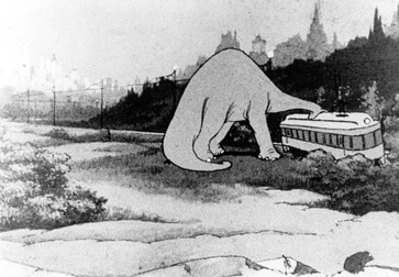 Gertie the Dinosaur. 1914. USA. Directed and animated by Winsor McCay. Courtesy Photofest