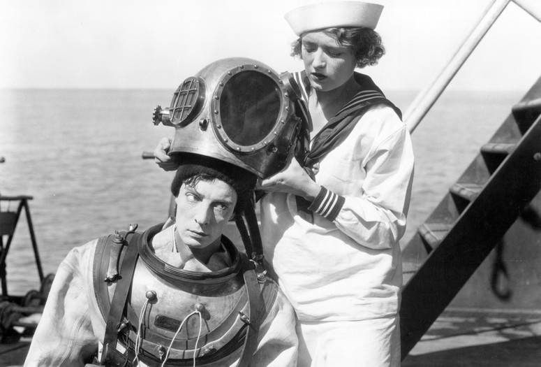 The Navigator. 1924. USA. Directed by Donald Crisp, Buster Keaton. Courtesy Photofest