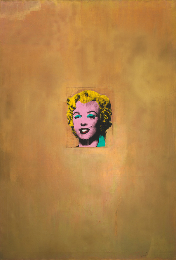 Andy Warhol. Gold Marilyn Monroe. 1962