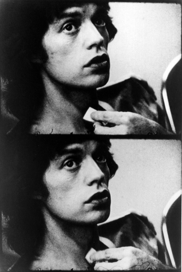 Mick Jagger in Cocksucker Blues. 1972. Directed by Robert Frank