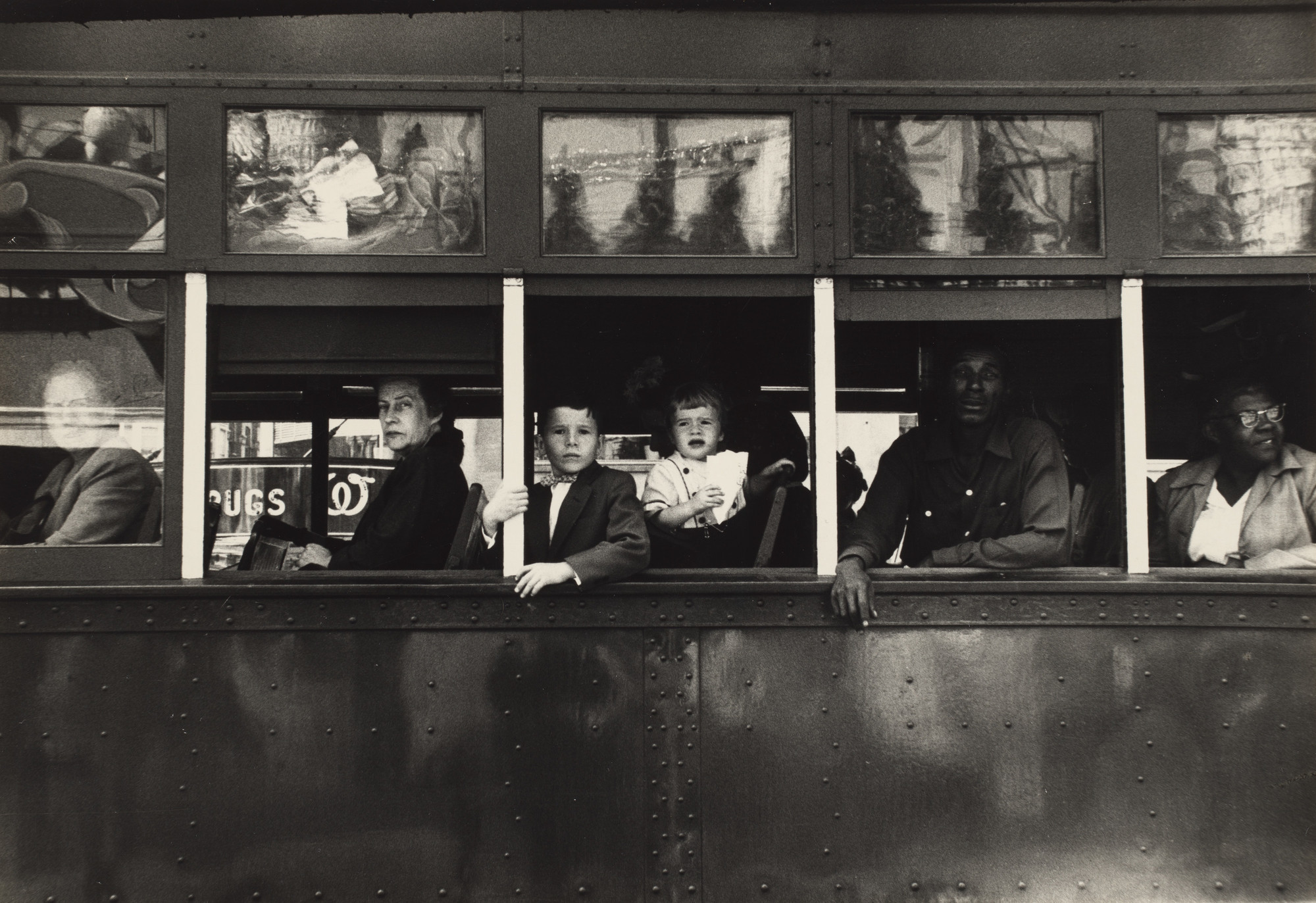 Robert Frank. Trolley—New Orleans. 1955