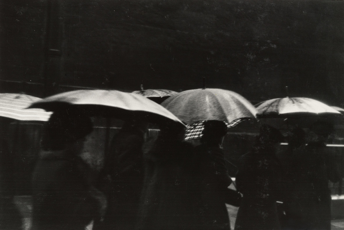 Robert Frank. Funeral, Paris. 1951