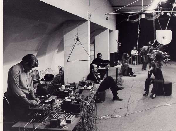 Rainforest IV performed at L'espace Pierre Cardin, Paris, France, 1976