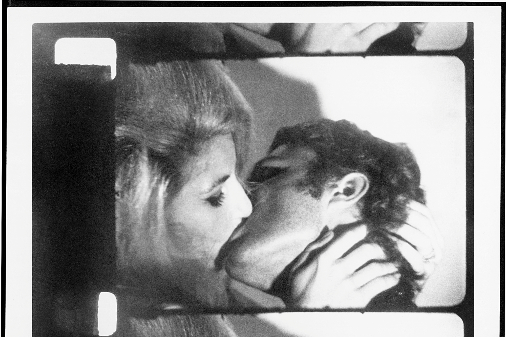 Andy Warhol. Kiss. 1964. 16mm film transferred to video (black and white, silent), 58 min. at 16 fps. The Museum of Modern Art, New York. Courtesy The Andy Warhol Museum, Pittsburgh, and The Andy Warhol Foundation for the Visual Arts, Inc. Digital media management by MPC New York Film scanning by Technicolor-PostWorks New York. © 2019 Andy Warhol Foundation for the Visual Arts/Artists Rights Society (ARS), New York
