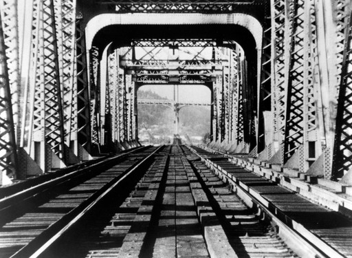 Railroad Turnbridge. 1969. USA. Directed by Richard Serra. 16mm