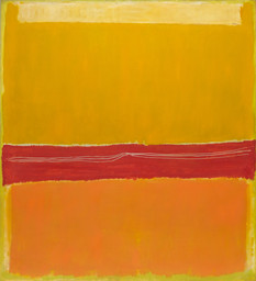 "Mark Rothko. No. 5/No. 22. 1950 (dated on reverse 1949). Oil on canvas, 9' 9"" × 8' 11 1/8"" (297 × 272 cm). Gift of the artist. © 1998 Kate Rothko Prizel & Christopher Rothko / Artists Rights Society (ARS), New York"