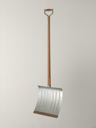 "Marcel Duchamp. In Advance of the Broken Arm. 1964 (fourth version, after lost original of November 1915). Wood and galvanized-iron snow shovel, 52"" (132 cm) high. Gift of The Jerry and Emily Spiegel Family Foundation. © 2019 Artists Rights Society (ARS), New York/ADAGP, Paris/Estate of Marcel Duchamp"