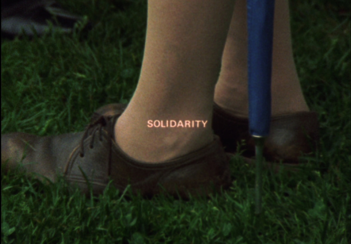 Solidarity. 1973. Canada. Directed by Joyce Weiland. Courtesy Canadian Filmmakers Distribution Centre