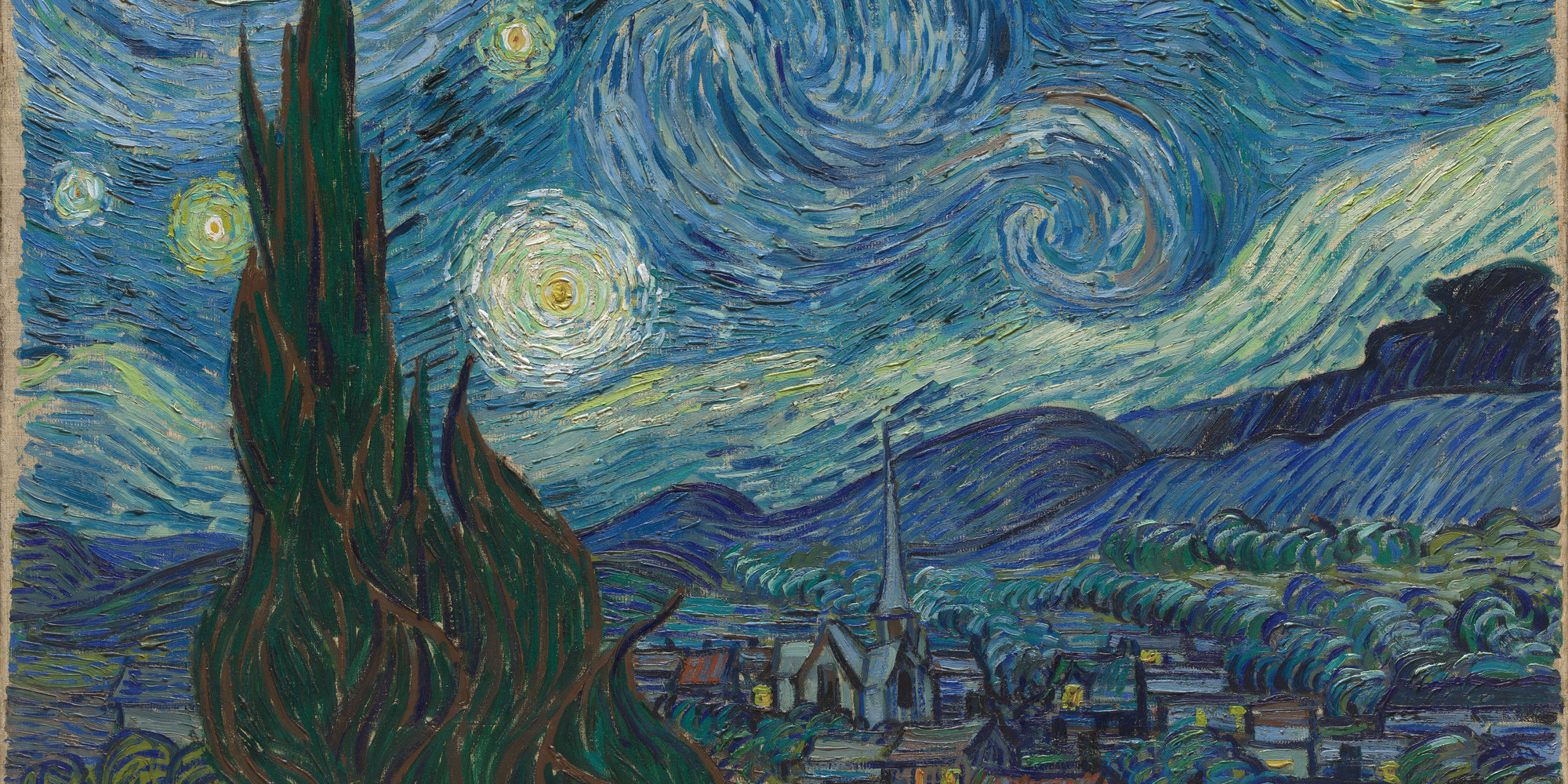 Vincent van Gogh. The Starry Night, 1889.
