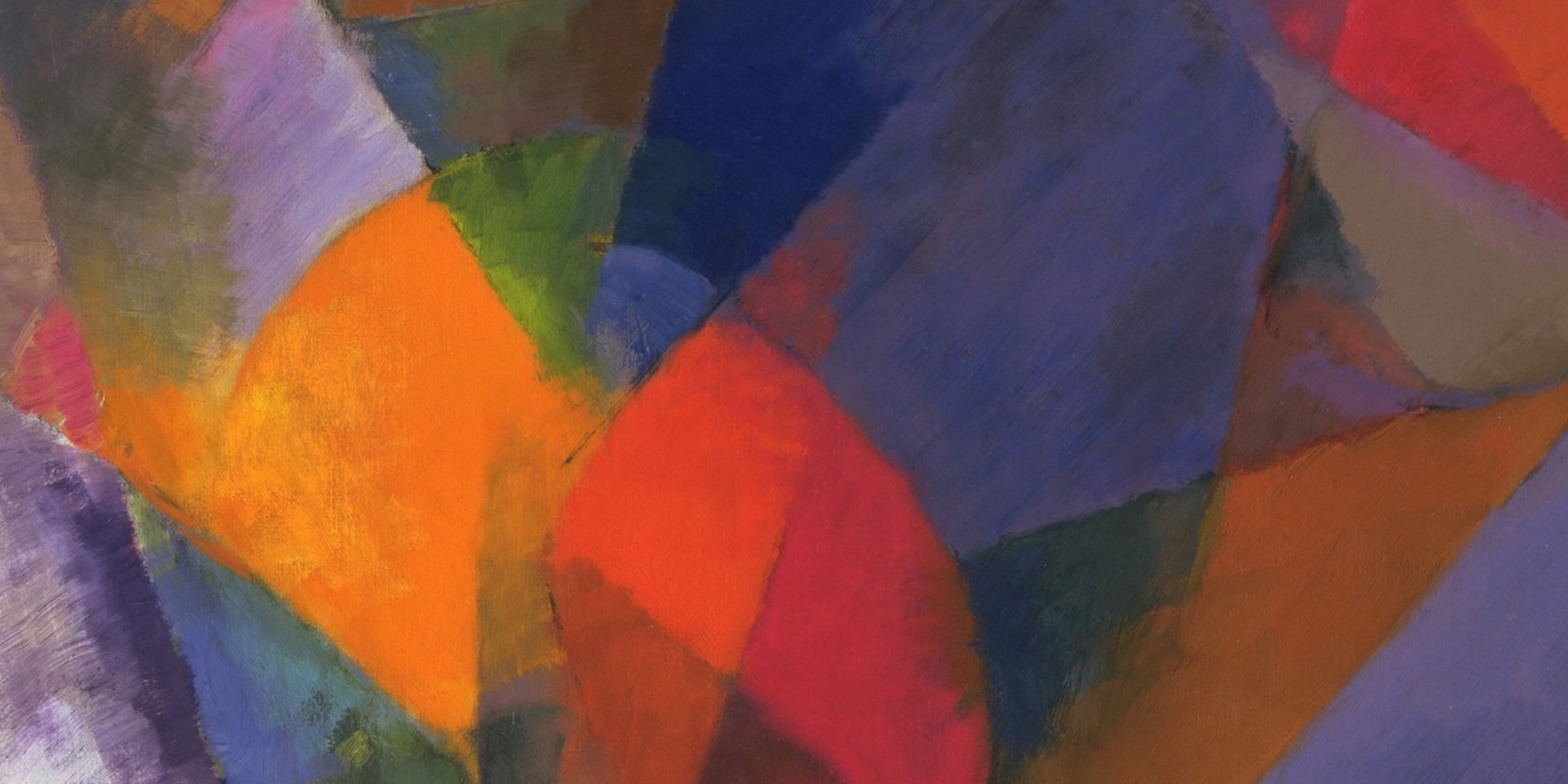 "Stanton Macdonald-Wright. Synchromy. 1917. Oil on canvas, 31 x 24"" (78.8 x 61 cm). Given anonymously"