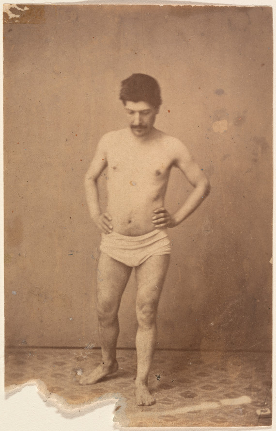 Unknown photographer. Standing Model. c. 1885