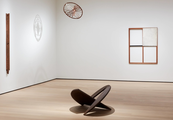 "Installation view of the exhibition ""Sur moderno: Journeys of Abstraction―The Patricia Phelps de Cisneros Gift,"" October 21, 2019–March 14, 2020. The Museum of Modern Art, New York. Digital Image © 2019 The Museum of Modern Art, New York. Photo: Heidi Bohnenkamp"