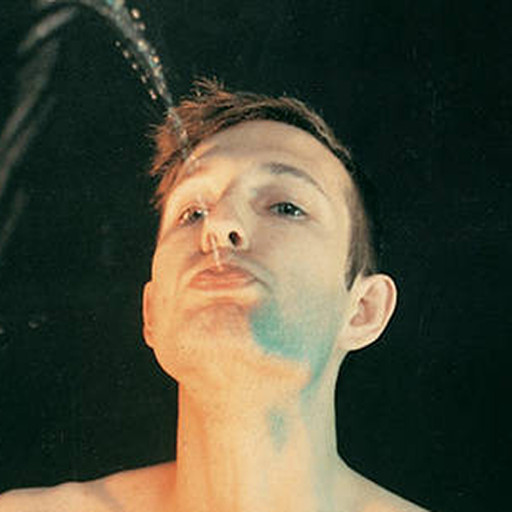"Bruce Nauman. Self-Portrait as a Fountain. 1966. color photograph, 18 3/4 × 23 1/2"" (47.6 × 59.7 cm). © The Museum of Modern Art"