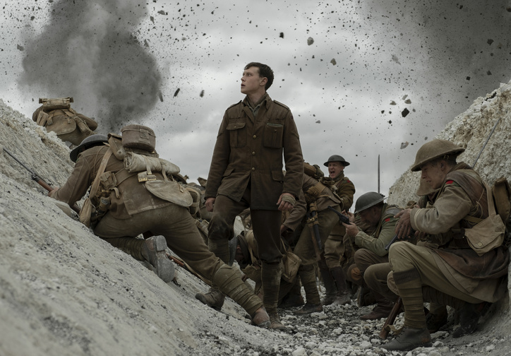 1917. 2019. USA/UK. Directed by Sam Mendes. Courtesy Universal Pictures
