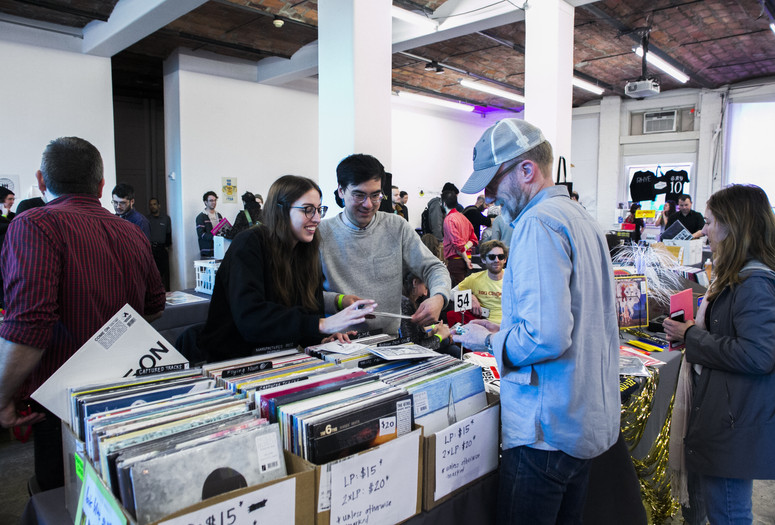 Come Together: Music Festival and Label Market on March 24, 2018, presented at MoMA PS1 as a part of VW Sunday Sessions 2017-2018. Photo by Kevin Aranibar.