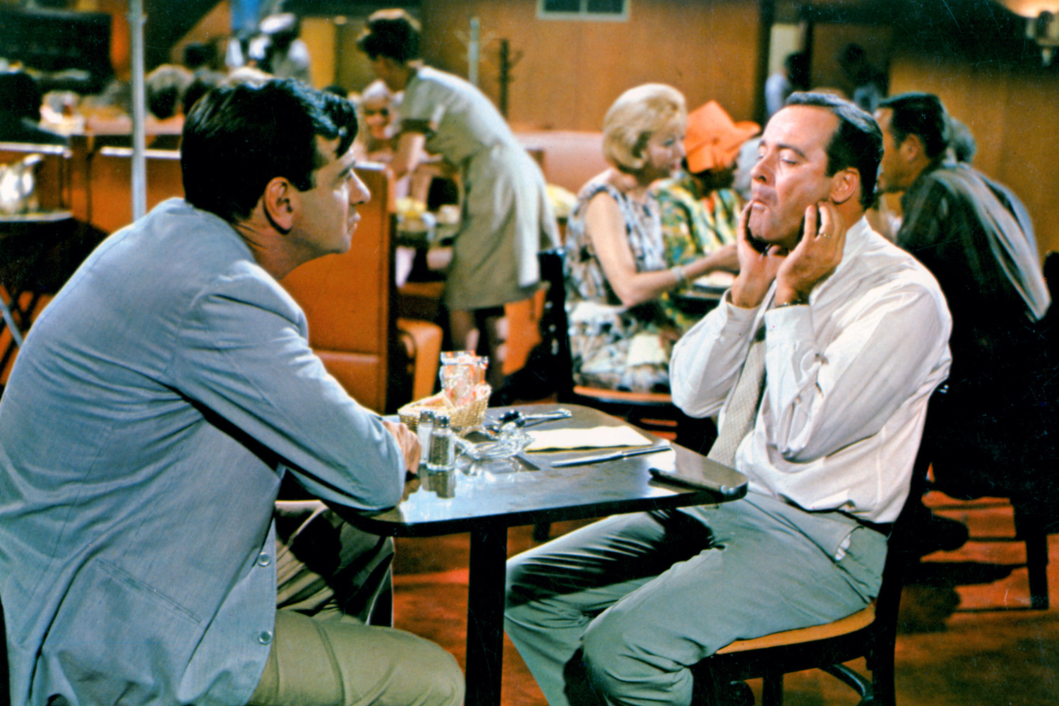The Odd Couple. 1968. USA. Directed by Gene Saks. Courtesy Photofest