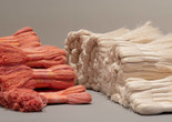 Sheila Hicks. Cartridges and Zapata. 1962–65. Linen. Gift of Melvin Bedrick. Photo: Denis Doorly