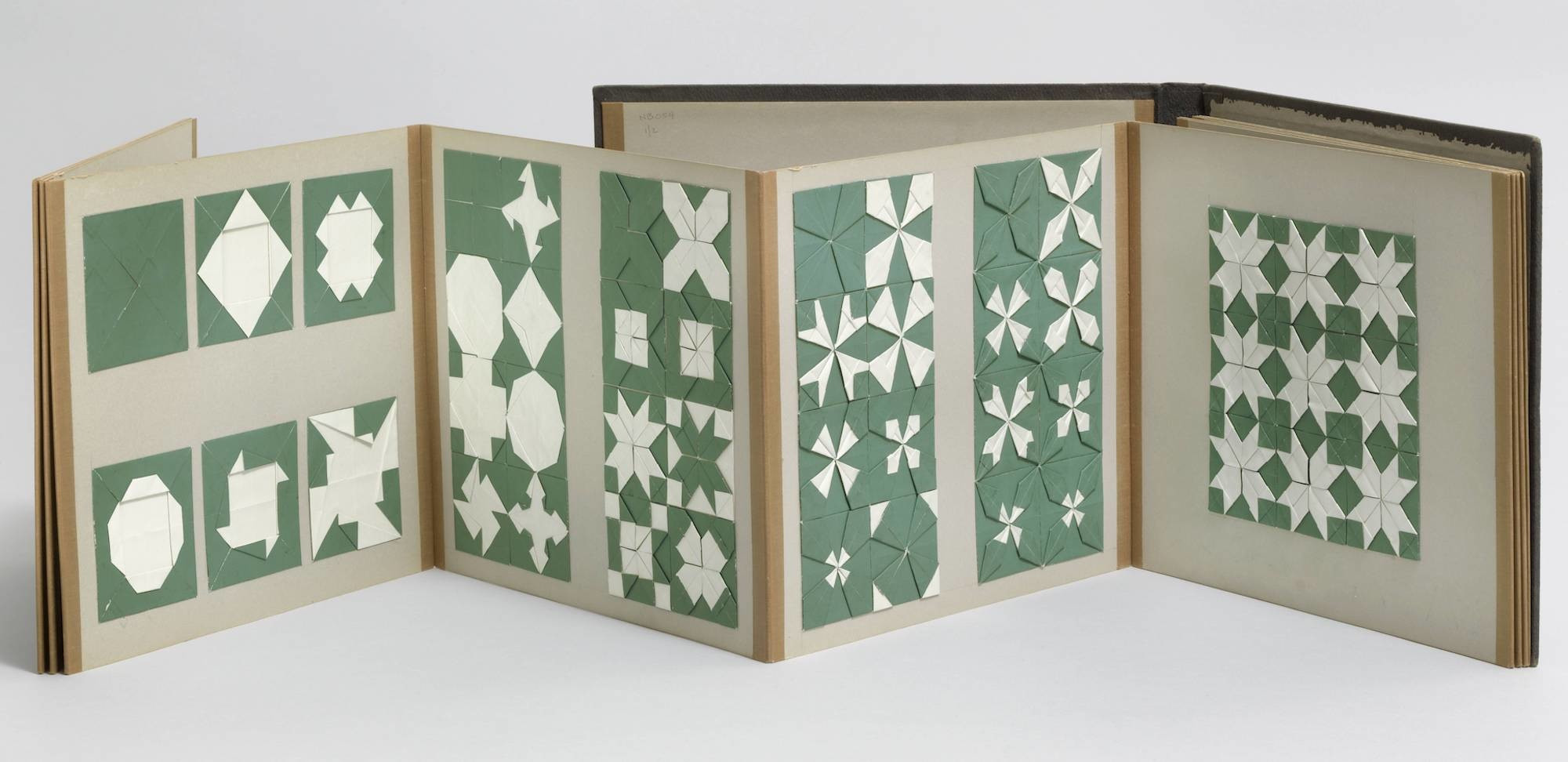 Fannie E. Katchline. Paper folding (Kindergarten material based on the educational theories of Friedrich Froebel). c. 1890