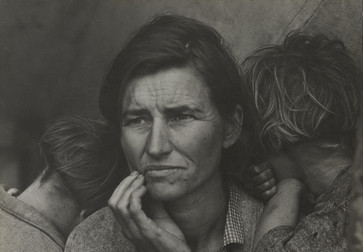 Dorothea Lange. Migrant Mother, Nipomo, California. March 1936. Gelatin silver print. The Museum of Modern Art, New York. Purchase