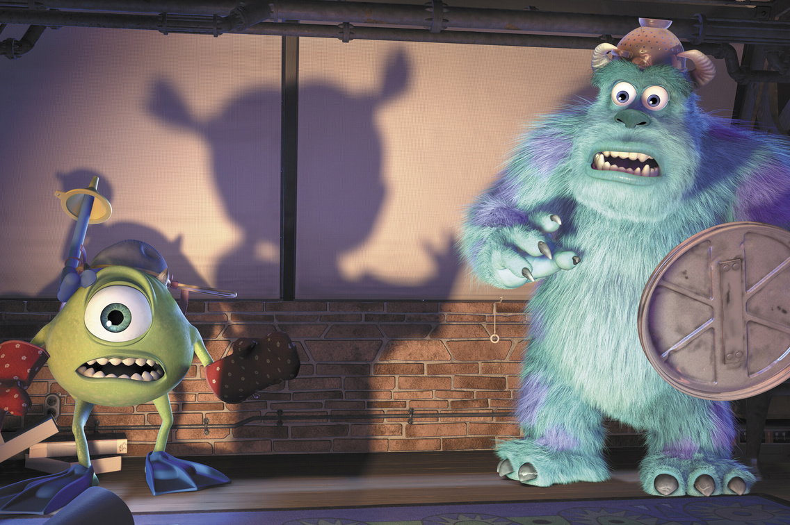 Monsters, Inc. 2001. USA. Directed by Pete Docter, David Silverman, Lee Unkrich. Courtesy Photofest. © Disney Enterprises, Inc./Pixar Animation Studios