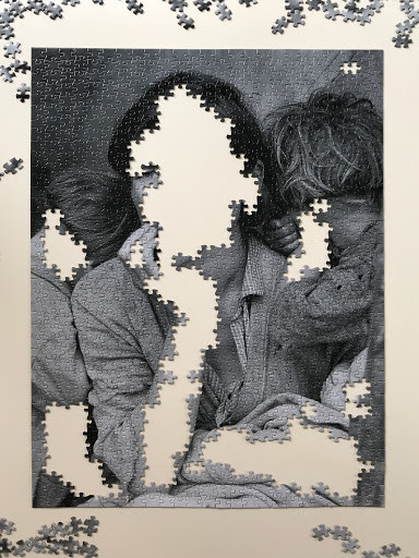 Unfinished Migrant Mother 1,000-piece puzzle