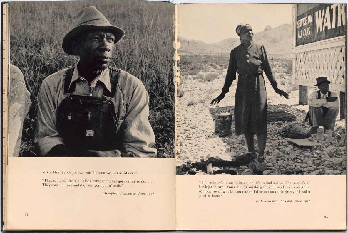 An American Exodus: A Record of Human Erosion, by Dorothea Lange and Paul Schuster Taylor, 1939