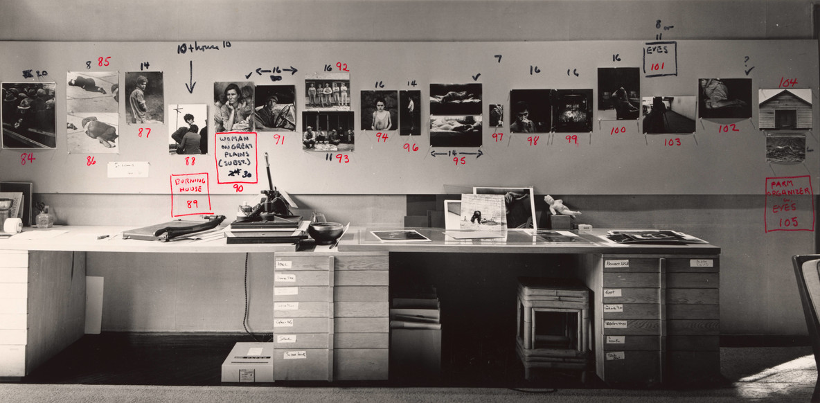 Rondal Partridge. Dorothea Lange Studio (Last Ditch). c. 1965. Departmental Collection, Department of Photography, The Museum of Modern Art