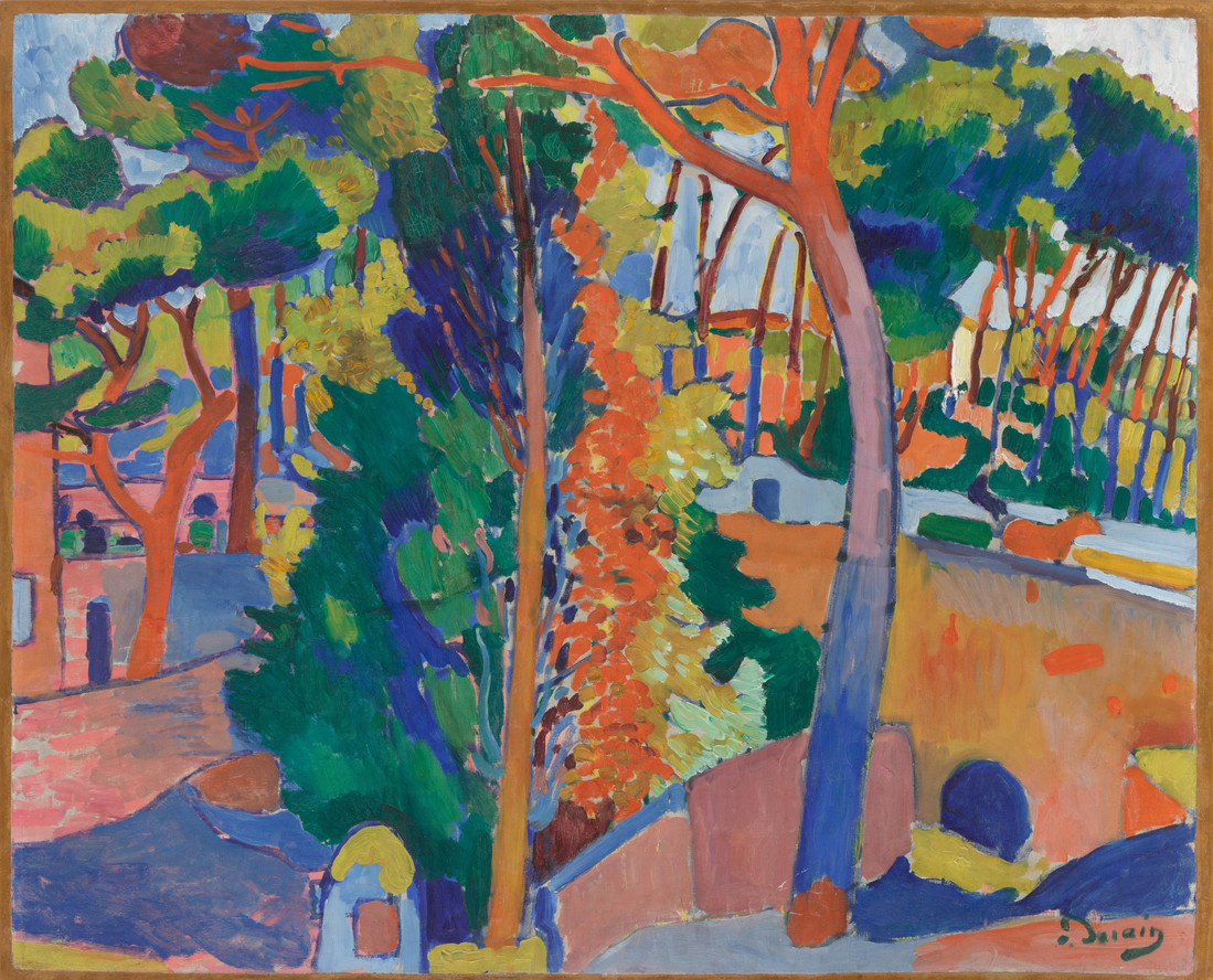 André Derain. Bridge over the Riou. 1906